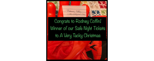 Congrats to Rodney Coffin!